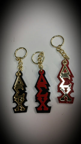 Delta Sigma Chi - Assorted Tiki Style Keychains