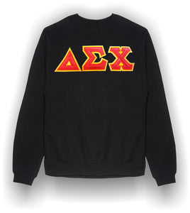 Delta Sigma Chi - Crew-neck Sweatshirt in the Traditional Style