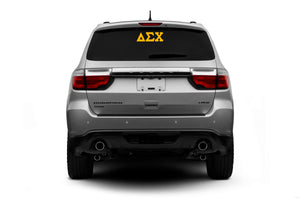 Delta Sigma Chi - Decal with Letters