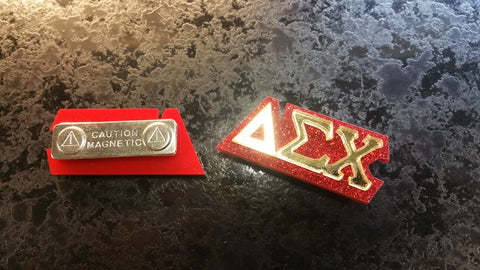 Delta Sigma Chi - Magnetic Pin for the Sisters of DSC