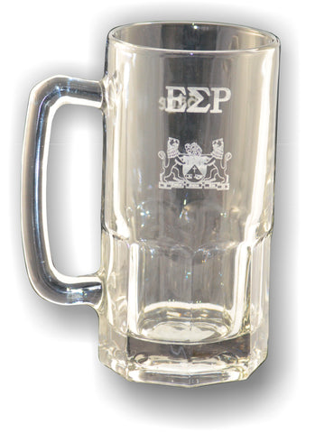 Epsilon Sigma Rho Mug with Etched Letters and Crest