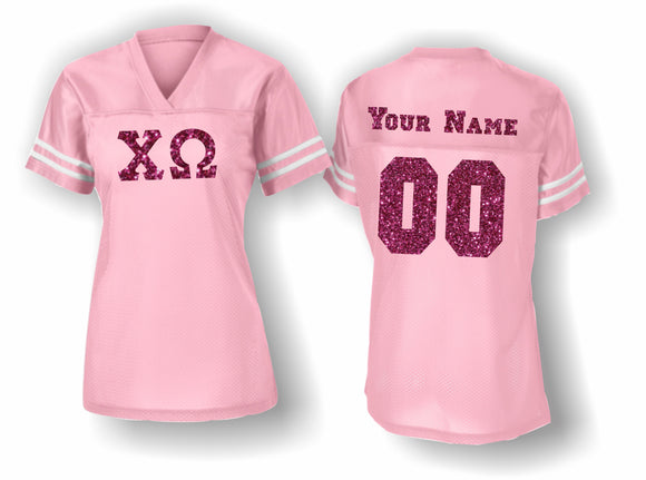 Chi Omega - LST307 Sport-Tek® Ladies PosiCharge® Replica Jersey