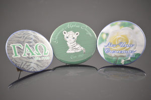 Gamma Alpha Omega - Button