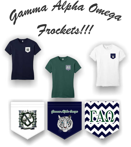 Gamma Alpha Omega - Frocket T-shirt