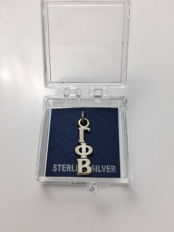 Gamma Phi Beta - Sterling Silver Lavalier Charm