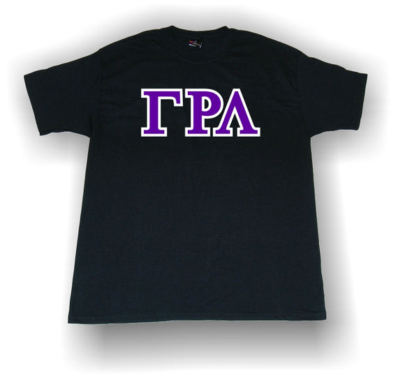 Gamma Rho Lambda - Crossing Shirt with Single Stitched Applique