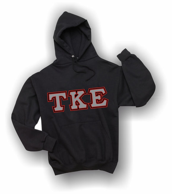 Tau Kappa Epsilon - Hooded Sweatshirt, Embroidered (Double Stitched) - 4997M JERZEES® SUPER SWEATS®