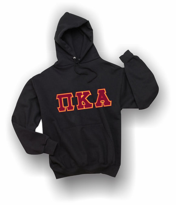 Pi Kappa Alpha - Hooded Sweatshirt, Embroidered (Double Stitched) - 4997M JERZEES® SUPER SWEATS®