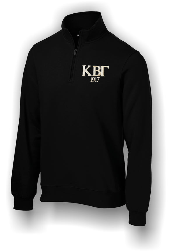 Kappa Beta Gamma - Sport-Tek® 1/4-Zip Sweatshirt. ST253 with Embroidery