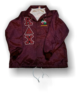 63e7926e65 Kappa Delta Chi - Line Jacket with Glitter and Crest – Greek Apparel and  Hobbies