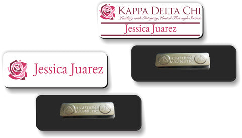 Kappa Delta Chi Name Badge for Events and Meetings
