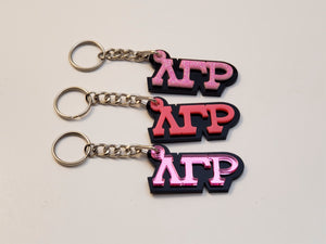 Lambda Gamma Rho - Acrylic Keychains in Assorted colors