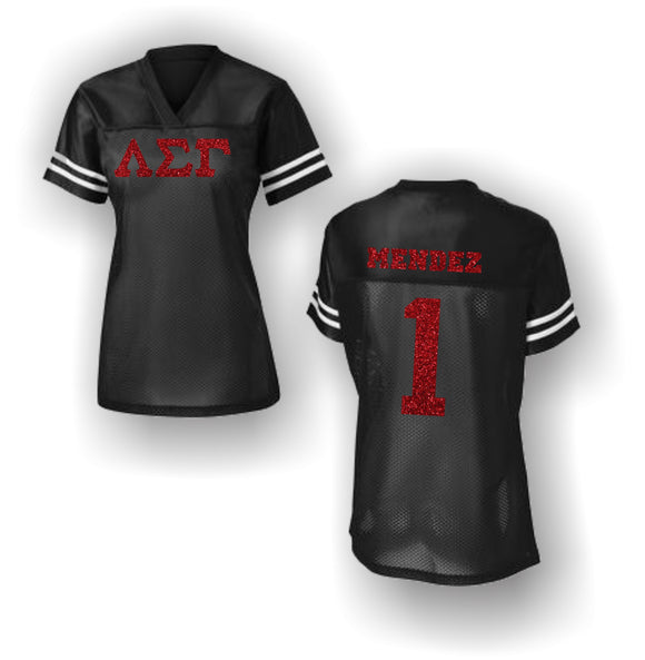 Lambda Sigma Gamma - Game Day Women's Football Jersey