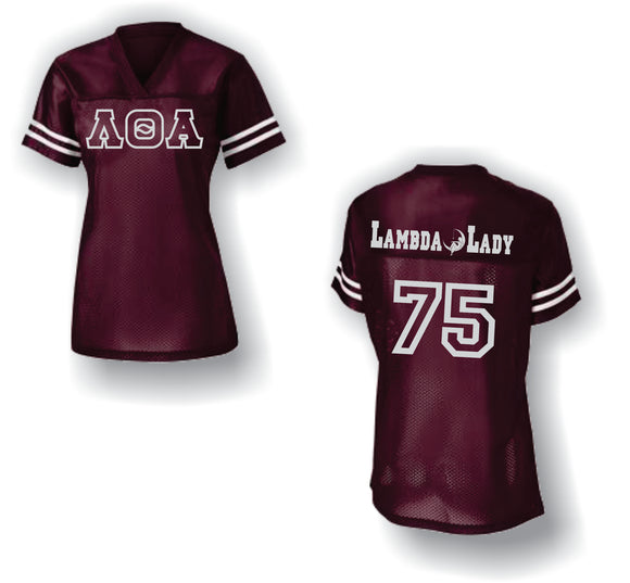 Lambda Theta Alpha - Game Day Football Jersey