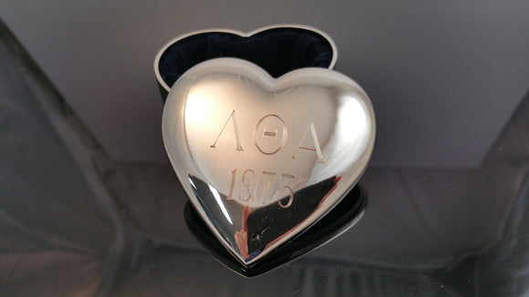 Lambda Theta Alpha - Heart Jewelry Box