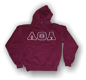 Lambda Theta Alpha - Traditional Hooded Double Stitched Letters