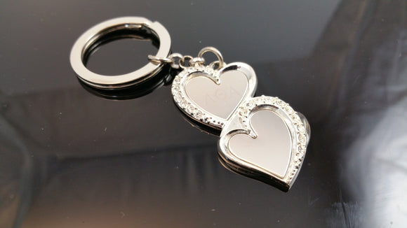 Lambda Theta Alpha - Heart Key Chain