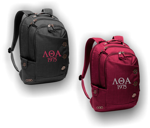 Lambda Theta Alpha - 414004 Ogio Ladies Backpack with Organizational Tabs