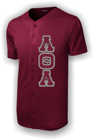 Lambda Theta Alpha - ST220 Baseball Jersey with Letters and Name