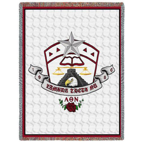 Lambda Theta Nu - Afghan Throw Blanket
