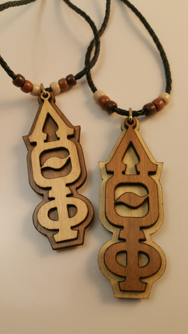 Lambda Theta Phi - Double Sided Wood Tiki
