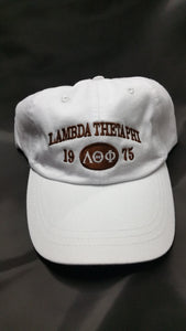 Lambda Theta Phi - Vintage Cap with Letters and Year