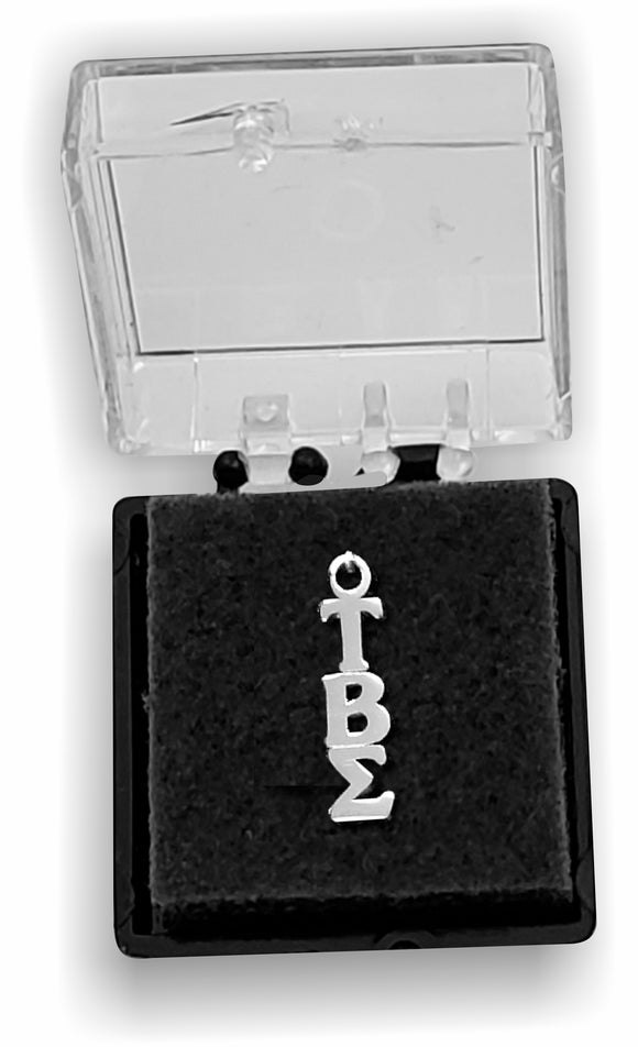 Tau Beta Sigma - Lavalier, Sterling Silver; TBS-LVLR