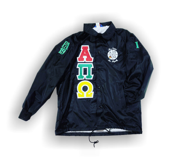 Alpha Pi Omega-American Made Line Jacket-APW-JCKT-LINE-3COLOR