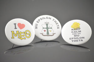 Mu Epsilon Theta - Assorted Buttons