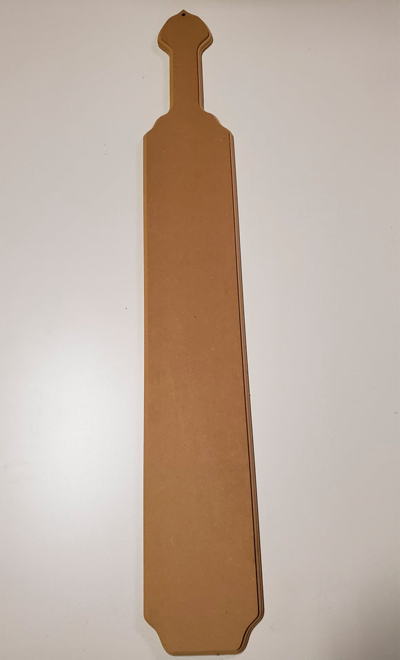 Paddle - 4ft. MDF Paddle for Painting
