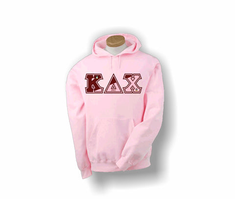 Kappa Delta Chi - KD Chi Flag Letters - Hoodie