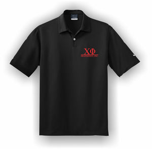 Chi Phi – Polo, Embroidered - Nike Dri-FIT Pebble Texture Polo – 373749