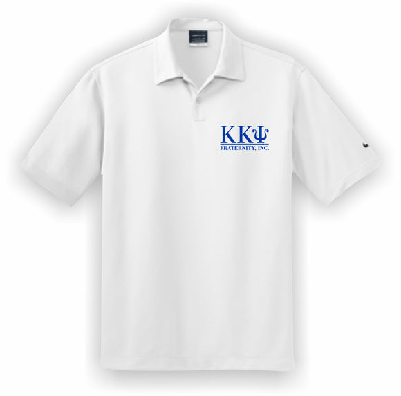 Kappa Kappa Psi – Polo, Embroidered - Nike Dri-FIT Pebble Texture Polo – 373749