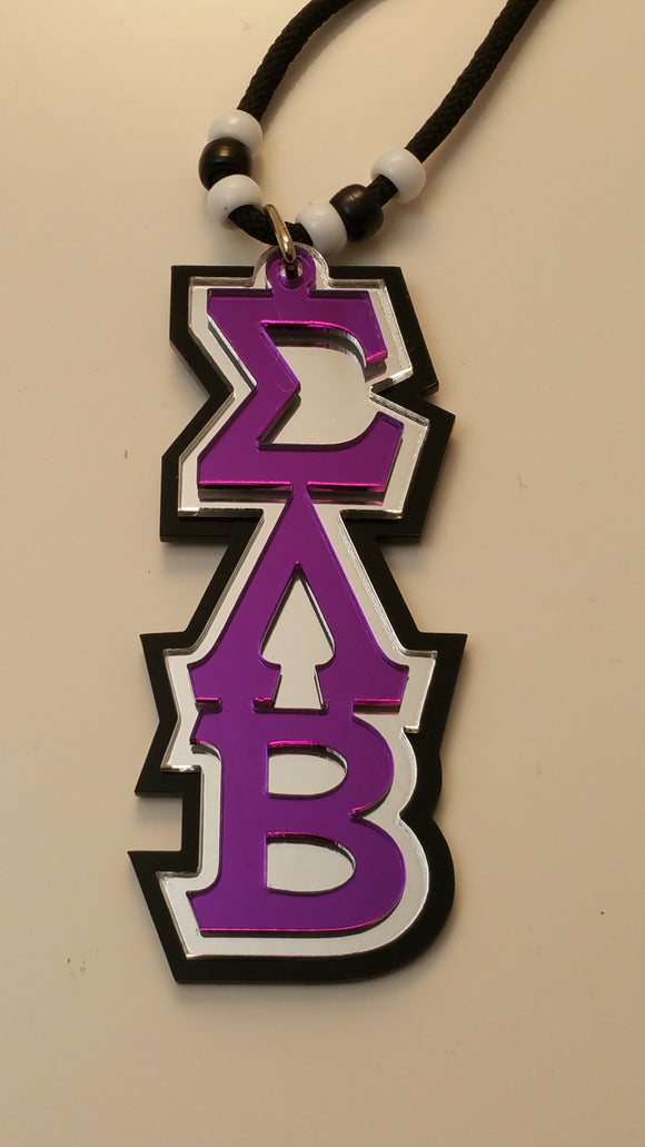 Sigma Lambda Beta - Triple Layer Tiki