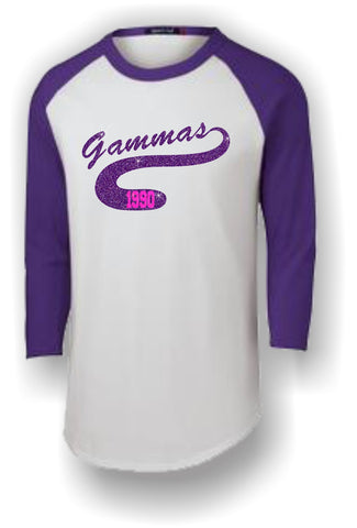 Sigma Lambda Gamma - Baseball Jersey with Panther Tail