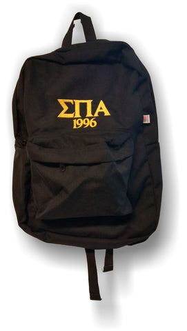 Sigma Pi Alpha - America Apparel Backpack