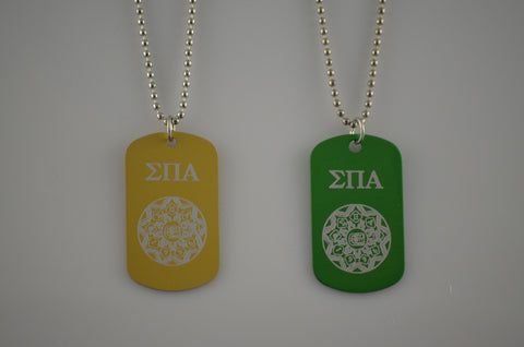 Sigma Pi Alpha - Dog Tag