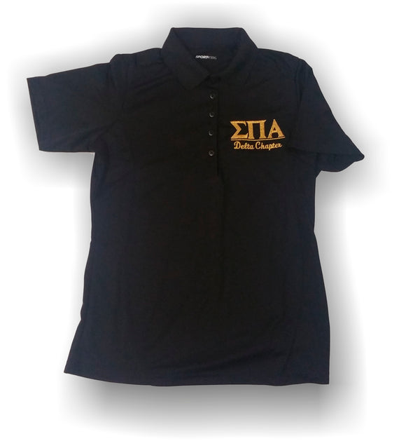 Sigma Pi Alpha - L475 Sports-Tek - Sport-Tek® Ladies Dry Zone® Polo