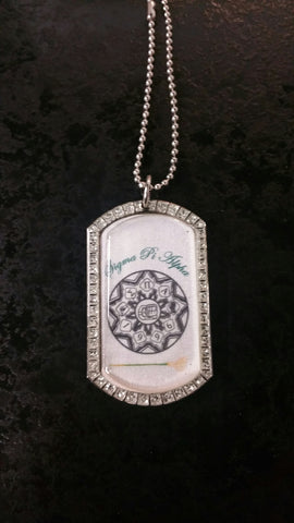 Sigma Pi Alpha - Bling Bling Dog Tag