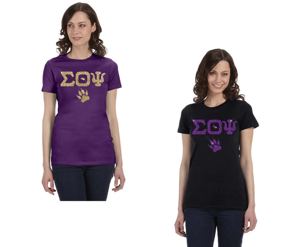 Sigma Theta Psi - Bella + Canvas - Ladies T-Shirt