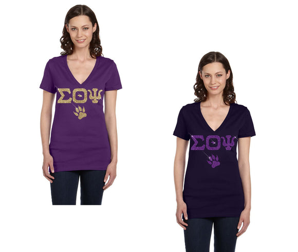 Sigma Theta Psi - V-Neck T-Shirt