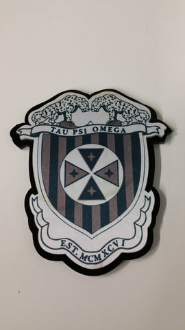 Tau Psi Omega - Full Color Crest
