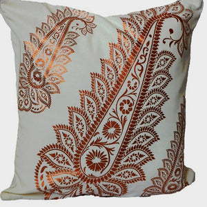 Open image in slideshow, Gold Metallic Foil Cushion Pillow Cover! Thick Cotton Pillow Sham!