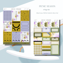 Load image into Gallery viewer, Picnic Season Foiled Sticker Kit