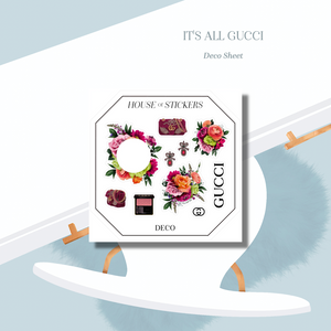 It's All Gucci Foiled Sticker Kit