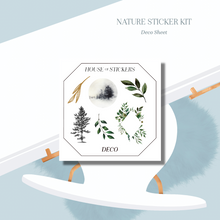 Load image into Gallery viewer, Nature Foiled Sticker Kit