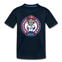 Load image into Gallery viewer, Kids Baseball Bobblehead Tee - deep navy