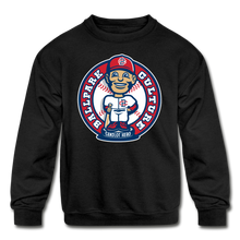 Load image into Gallery viewer, Kids Baseball Bobblehead Hoodie - black