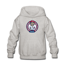 Load image into Gallery viewer, Kids Baseball Bobblehead Hoodie - heather gray