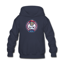 Load image into Gallery viewer, Kids Baseball Bobblehead Hoodie - navy